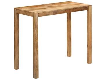 Table de bar Bois de manguier massif 120x60x108 cm - vidaXL