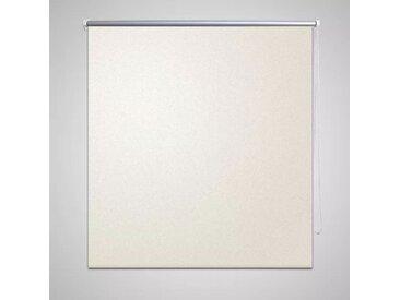 Store enrouleur occultant 120 x 230 cm crème - vidaXL