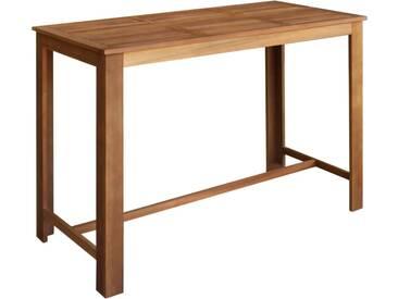 Table de bar Bois dacacia solide 150 x 70 x 105 cm - vidaXL