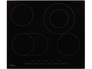 Plaque de cuisson Céramique 4 brûleurs Contrôle tactile 6600 W  - vidaXL