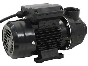 Pompe de piscine Noir 0,25 CH 7500 L/h - vidaXL