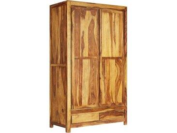 Garde-robe Bois massif de Sesham 110 x 55 x 190 cm - vidaXL