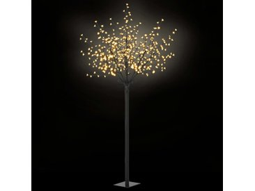 Arbre de Noël fleuri LED d'intérieur/d'extérieur IP44 250 cm - vidaXL