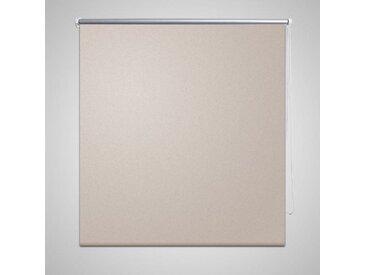 Store enrouleur occultant 120 x 175 cm beige - vidaXL
