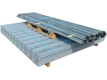 Panneaux et poteaux de clôture 2D pour jardin 2008x1230 mm 22 m - vidaXL