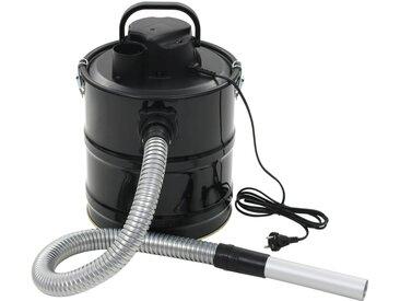 Aspirateur à cendres avec filtre HEPA 1000 W 20 L Noir - vidaXL