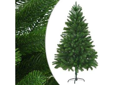 Arbre de Noël artificiel Aiguilles réalistes 210 cm Vert - vidaXL