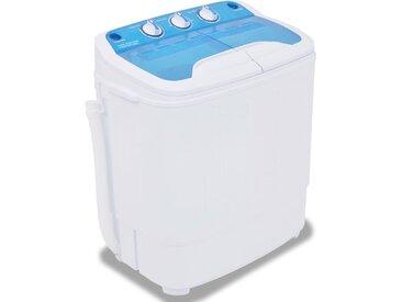 Mini machine à laver à deux cuves 5,6 kg - vidaXL