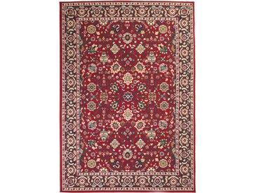 Tapis oriental Design persan 140 x 200 cm Rouge / Beige - vidaXL