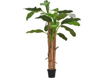 Bananier artificiel avec pot 250 cm Vert  - vidaXL