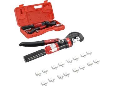 Pince à sertir hydraulique 4-6-8-10-16-25-35-60 mm² - vidaXL