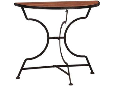 Table de bistro 85 x 43 x 75 cm Bois d'acacia massif - vidaXL