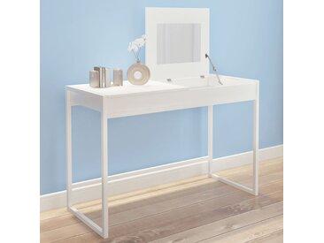 Table de toilette blanche - vidaXL