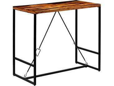 Table de bar Bois recyclé solide 120 x 60 x 106 cm - vidaXL