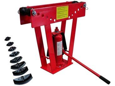 Cintreuse-Presse à cintrer hydraulique - 16 T + 8 matrices - vidaXL