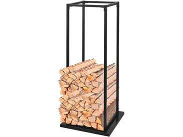 Portant de bois de chauffage avec base 113 cm - vidaXL