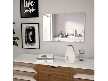 Miroir mural 60 x 40 cm Rectangulaire Verre - vidaXL