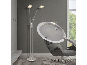 Lampadaire à LED à éclairage réglable 10 W - vidaXL