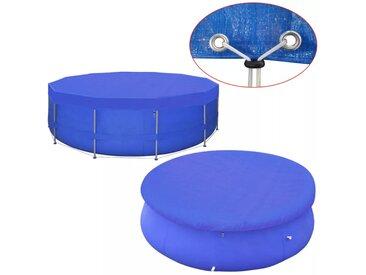 Couverture de piscine PE Ronde 540 cm 90 g/m² - vidaXL