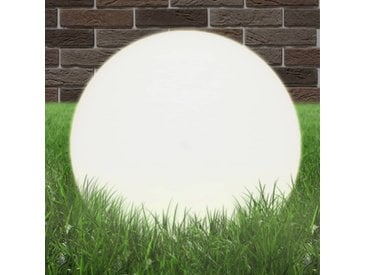 Lampe à LED sous forme de boule Sphérique 50 cm PMMA  - vidaXL