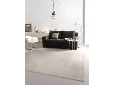 Tapis poil ras Opus Cosiness Taupe 240x340 cm - Tapis poil court design moderne pour salon