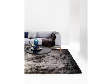 Tapis shaggy à poils longs Whisper Anthracite/Gris 80x150 cm - Tapis doux pour salon