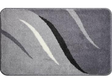 Grund Tapis de Bain Wings Gris 60x100 cm - Tapis pour salle de bain