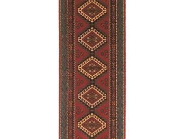 Brink & Campman Tapis de couloir en laine Kashmir Rouge 70x400 cm - Tapis nature