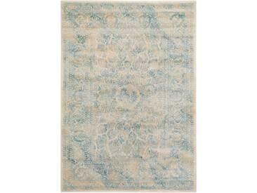Tapis Vintage Velvet Crème 240x340 cm - Tapis poil ras / effet usé