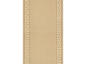 Brink & Campman Tapis de couloir en laine Hellas Beige 70x200 cm - Tapis nature