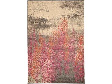 Tapis Vintage Liguria Multicouleur 80x140 cm - Tapis poil ras / effet usé