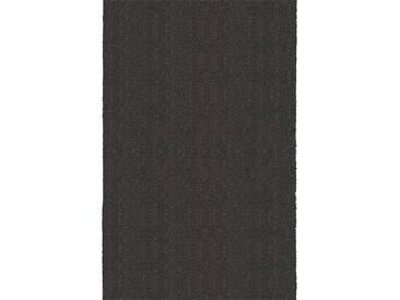 Brink & Campman Tapis de couloir en laine Basics Anthracite 70x500 cm - Tapis nature