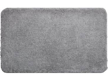 Grund Tapis de Bain Lex Gris ø 80 cm rond - Tapis pour salle de bain