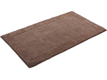 Grund Tapis de Bain Luxor Organic Cotton Marron 60x60 cm - Tapis pour salle de bain