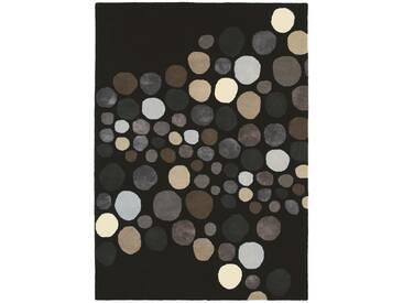 Brink & Campman Tapis en laine Estella Carnaval Noir 200x280 cm - Tapis nature