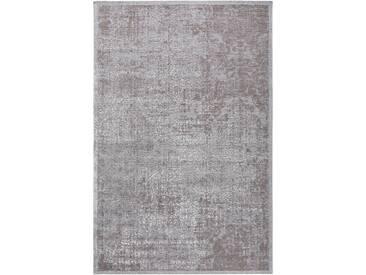 Tapis Vintage tisséàplat Frencie Gris 300x400 cm - Tapis poil ras / effet usé