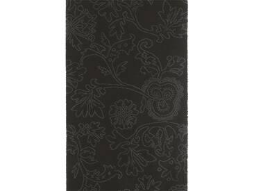 Brink & Campman Tapis de couloir en laine Items Noir 70x350 cm - Tapis nature