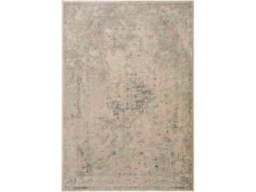 Tapis Vintage Elia Marron/Taupe 80x150 cm - Tapis poil ras / effet usé