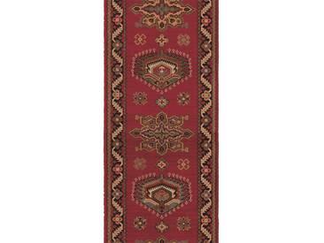 Brink & Campman Tapis de couloir en laine Emir Rouge 70x350 cm - Tapis nature