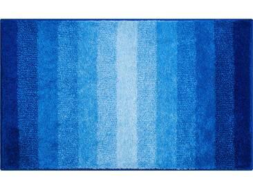Grund Tapis de Bain Rialto Bleu 80x140 cm - Tapis pour salle de bain
