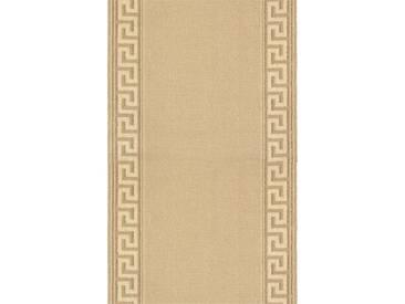 Brink & Campman Tapis de couloir en laine Hellas Beige 70x350 cm - Tapis nature
