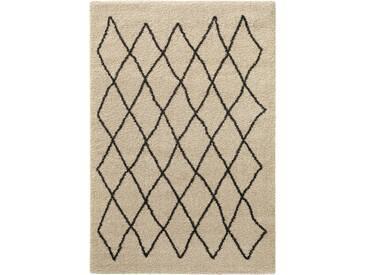 Tapis à poils longs Tika Crème 200x285 cm - Tapis style Berbère