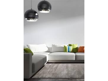 Tapis poil ras Velvet Marron 300x400 cm - Tapis poil court design moderne pour salon