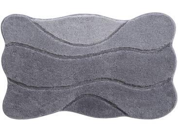 Grund Tapis de Bain Curts Gris 80x140 cm - Tapis pour salle de bain