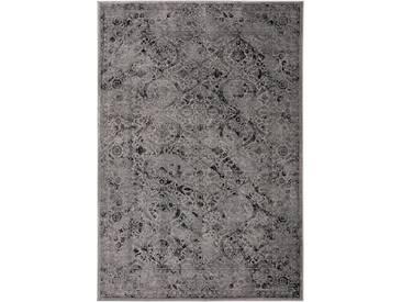 Tapis Vintage Velvet Gris 120x170 cm - Tapis poil ras / effet usé