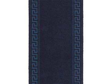Brink & Campman Tapis de couloir en laine Hellas Bleu 70x400 cm - Tapis nature
