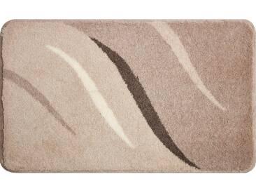 Grund Tapis de Bain Wings Beige 80x140 cm - Tapis pour salle de bain