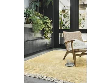 Brink & Campman Tapis tisséàplat Atelier Craft Jaune 140x200 cm - Tapis design moderne pour salon