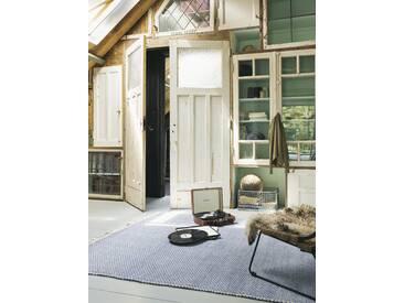 Brink & Campman Tapis tisséàplat Atelier Craft Bleu 200x280 cm - Tapis design moderne pour salon