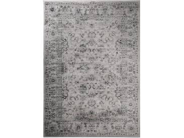Tapis Vintage Velvet Gris 140x200 cm - Tapis poil ras / effet usé